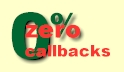 Use Piekos Appraisals for Zero Callbacks!